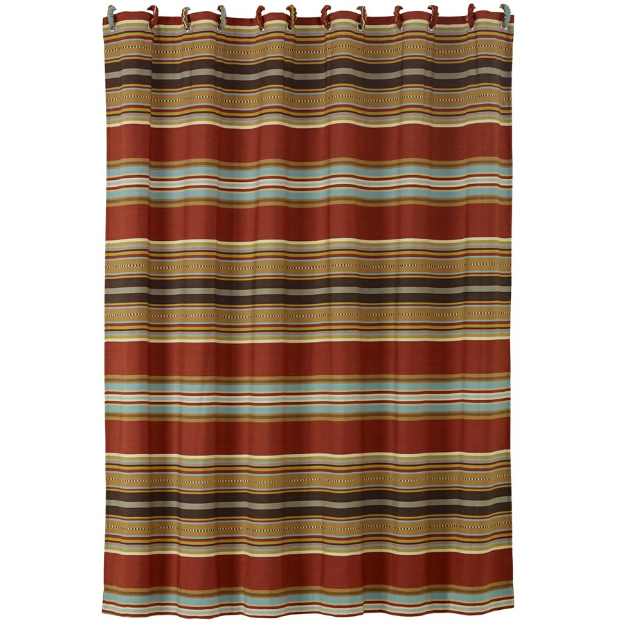 Striped Shower Curtain 9000