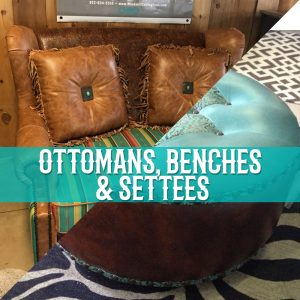 ottomans benches settees