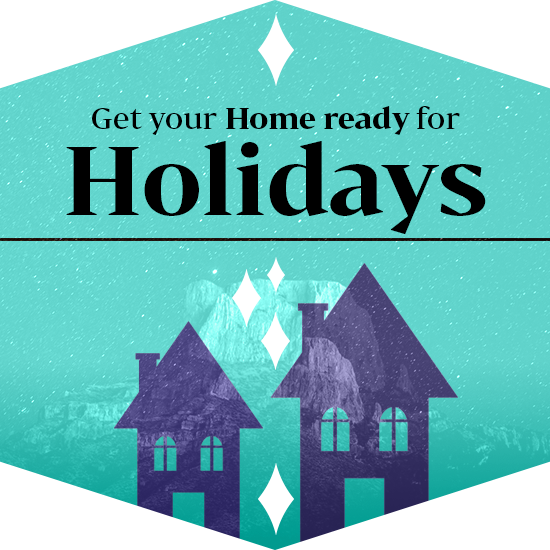 get your home ready for holidays