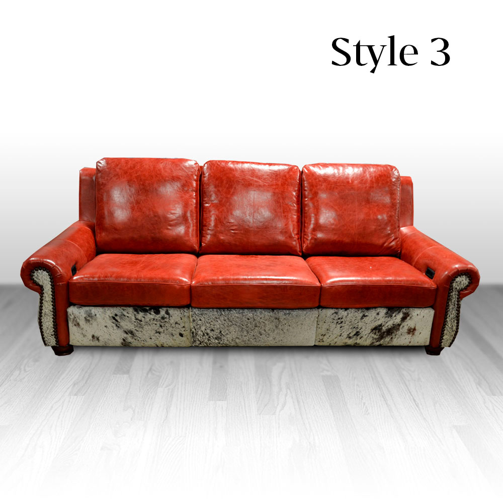 Rodeo Sofa Cowhide Western Furniture